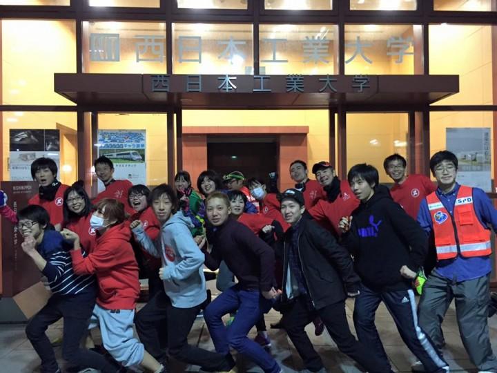 西日本工業大学の学生ボランティア団体SPD隊「防犯パトロール」様と合同パトランを実施