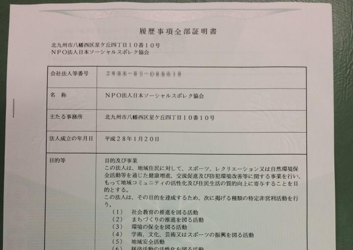 NPO法人日本ソーシャルスポレク協会