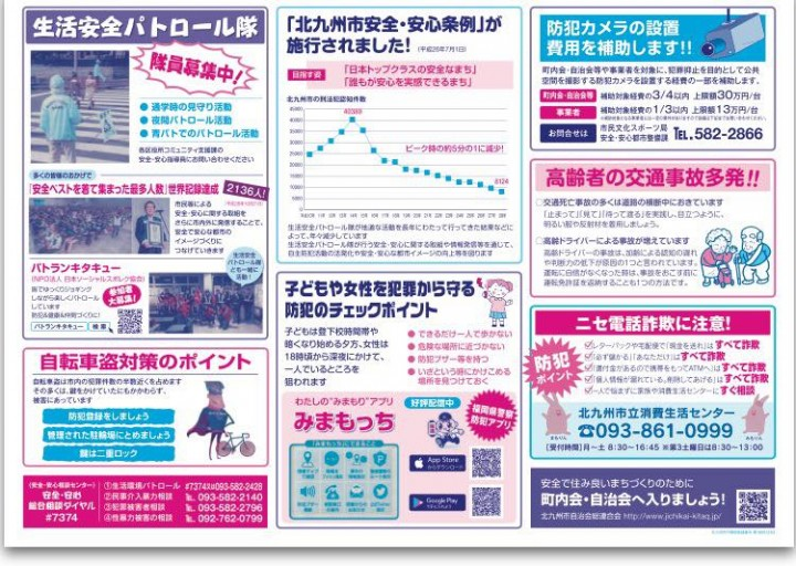 北九州市安全安心マップ
